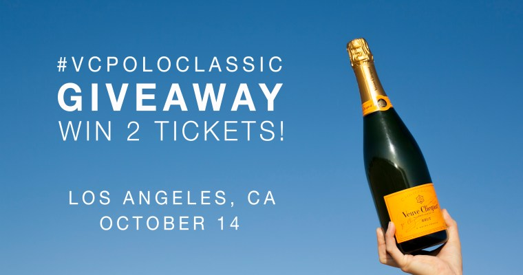 VEUVE CLICQUOT POLO CLASSIC INSTAGRAM GIVEAWAY
