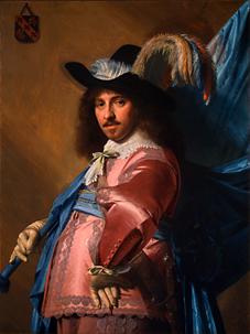 """""""Andries Stilte as a Standard Bearer"""" (Johannes Cornelisz Verspronck 1640)"""