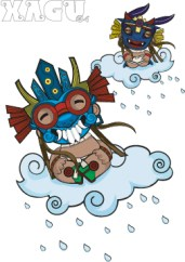 Tlaloc, dr. nel