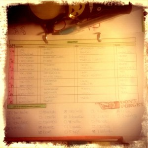 Meal Planning by Saruqui