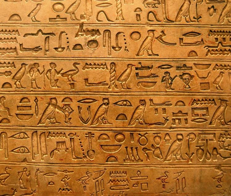 Hieroglyphs by Andrea
