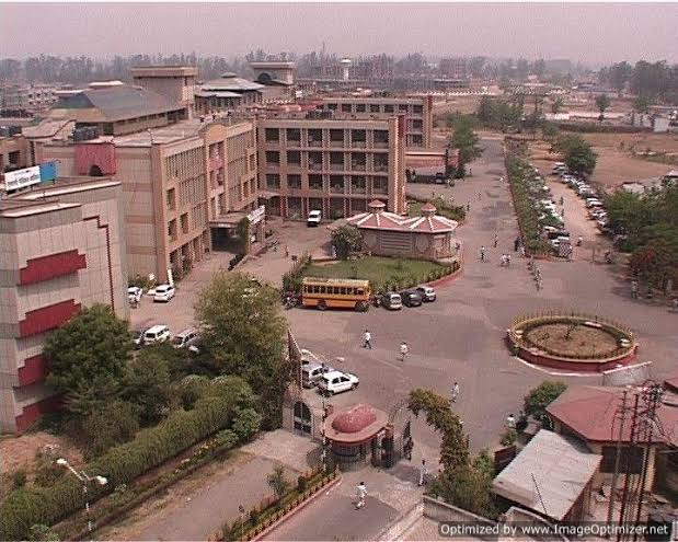 Subharti Medical College Aerial View