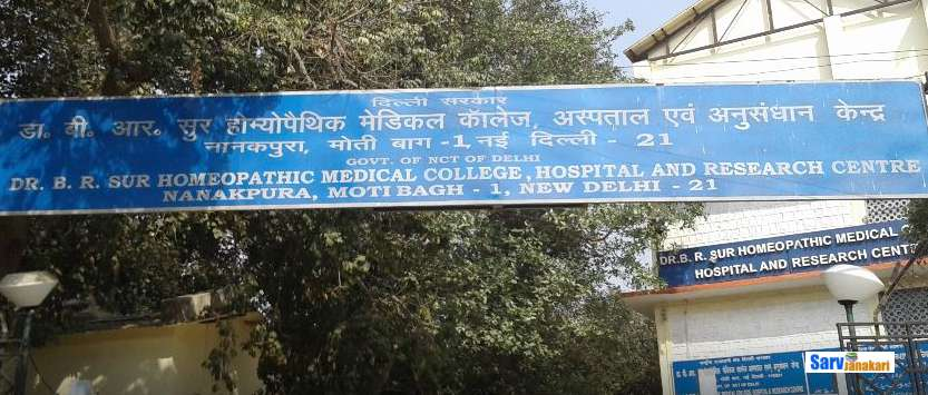 Dr. B. R. Sur Homeopathic Medical College
