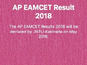 AP EAMCET RESULTS 2018