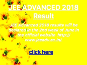 jee advanced results 2018