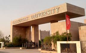 galgotias university entrance photo