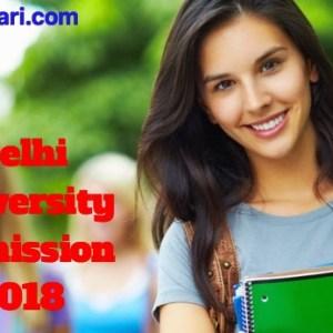 Delhi University Admission2018