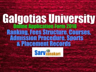 Galgotias University Fees Structure