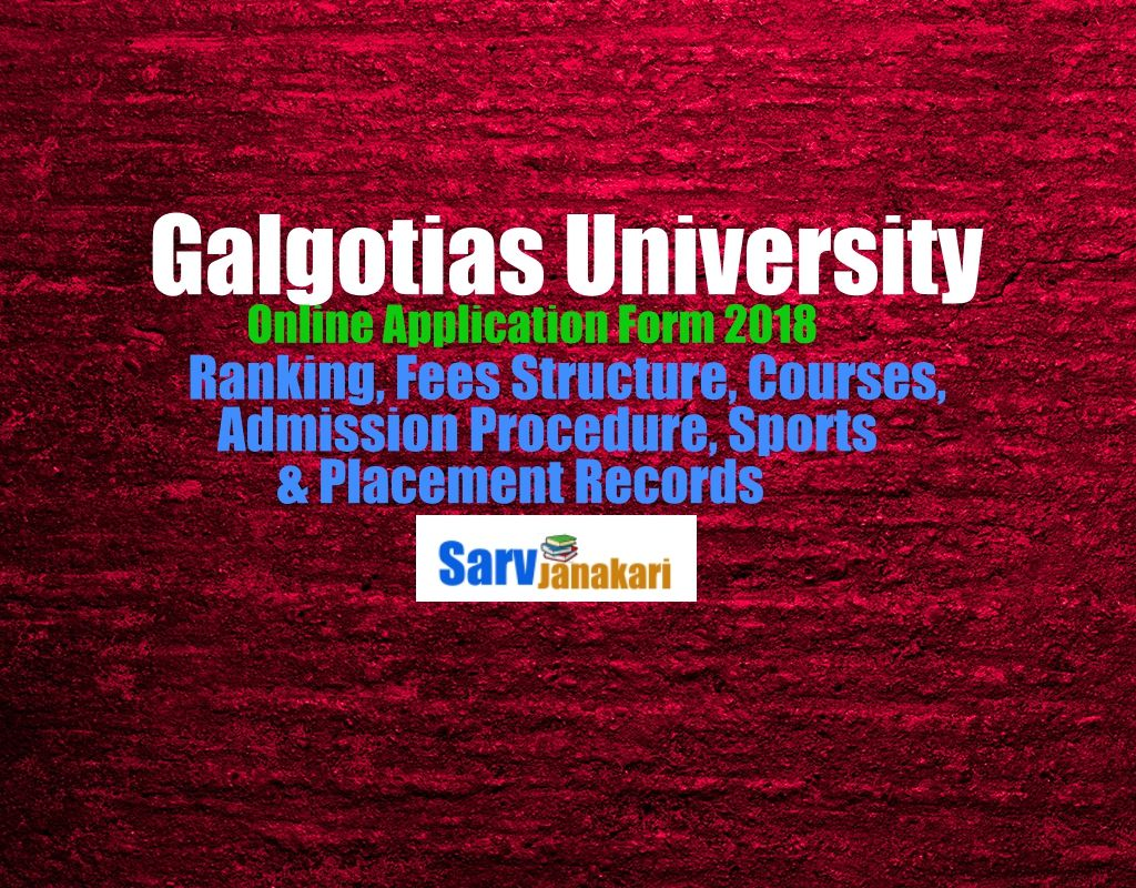 galgotias-university-application