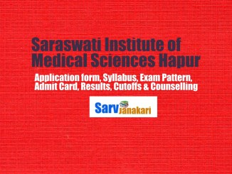 Saraswati institute of medical sciences