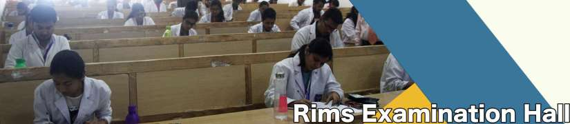 RIMS Examination Hall