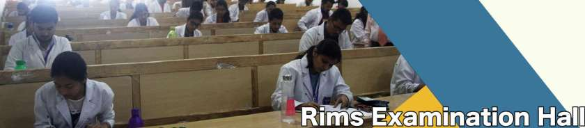 RIMS Examination Hall