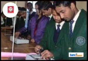 Prasad Institute of Medical Sciences, Lucknow students in lab