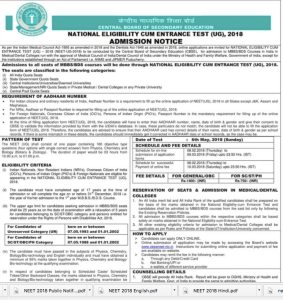 NEET PG 2018 Application Form Released: Apply from Here