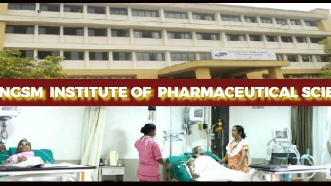 N.G.S.M.Institute of Pharmaceutical Sciences