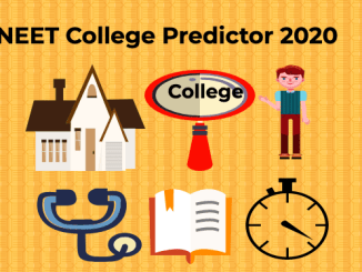 Neet College Predictor 2020
