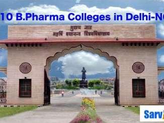 Top 10 B.Pharma Colleges in Delhi-NCR