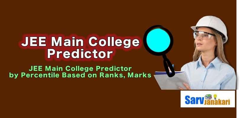 JEE Main college predictor