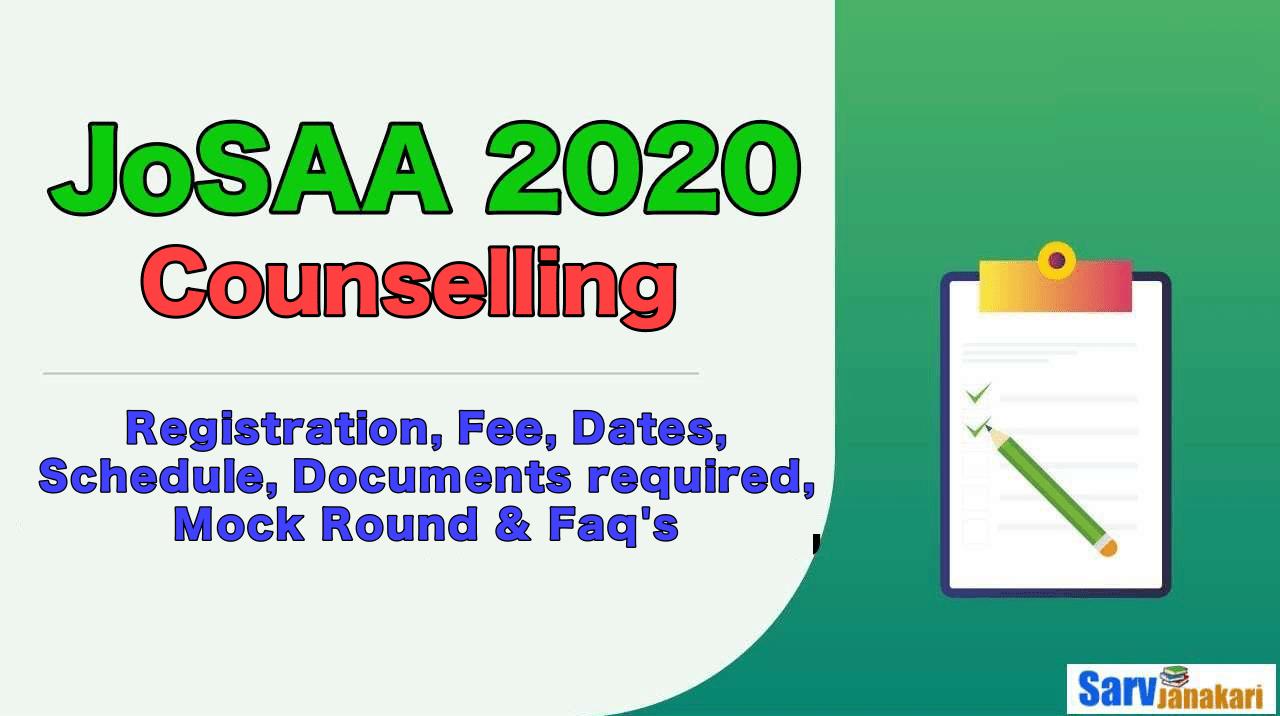 JoSAA-Counselling