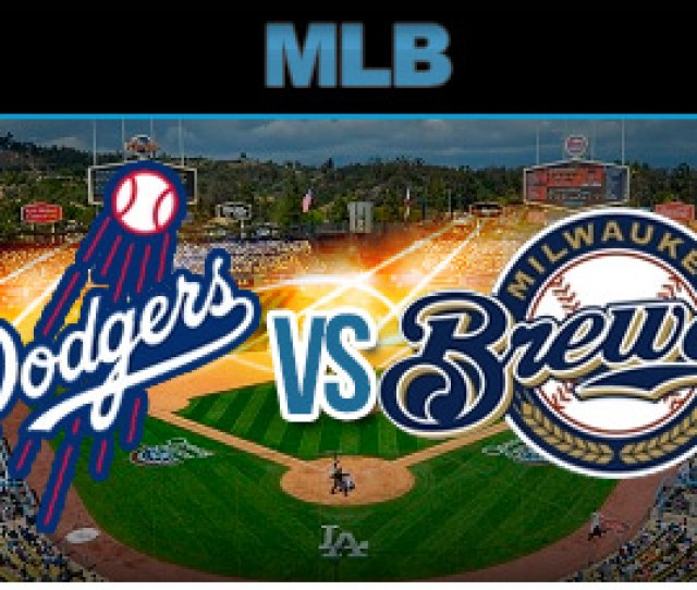 Milwaukee Brewers Vs Los Angeles Dodgers Odds