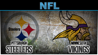Image result for Minnesota Vikings vs. Pittsburgh Steelers