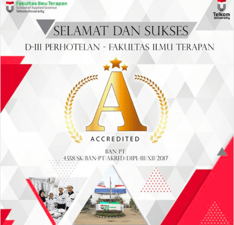 D3 Hospitality achieve A Accreditation from BAN-PT