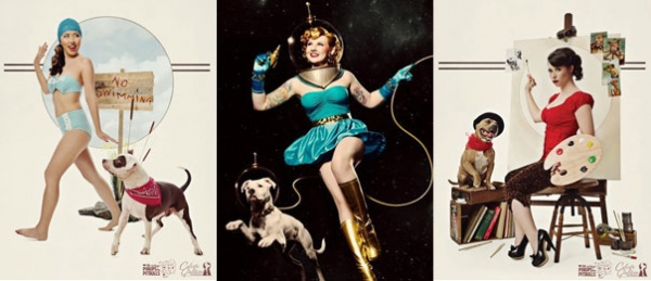 Pinups for pitbulls