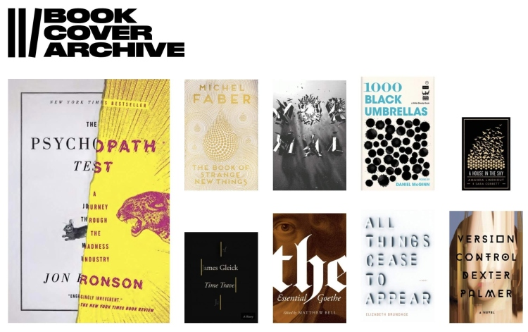 «The Book Cover Archive», portadas de libros para inspirarte