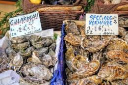Market-fresh seafood.