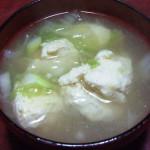 カナガシラ(金頭)のつみれ汁