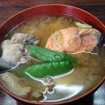 桜鱒(サクラマス)のみそ汁~笹川流れ