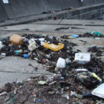 漂着ゴミ~桑川港