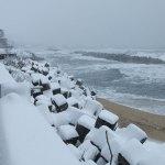 海と雪~笹川流れ