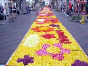 にいがた花絵プロジェクト古町編2008