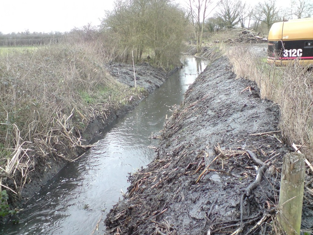 Agricultural ditch digging contractors in Bracknell