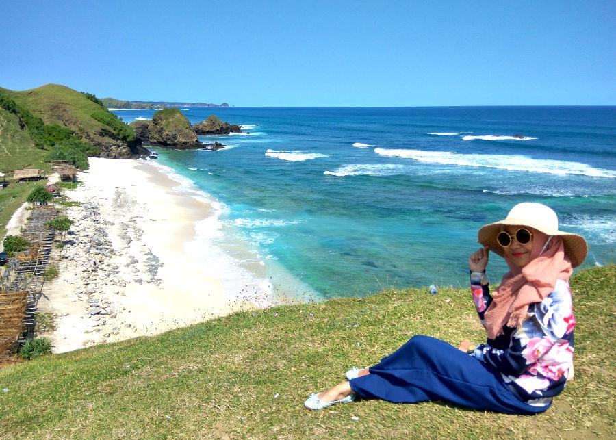 pantai terindah di lombok tengah pantai seger