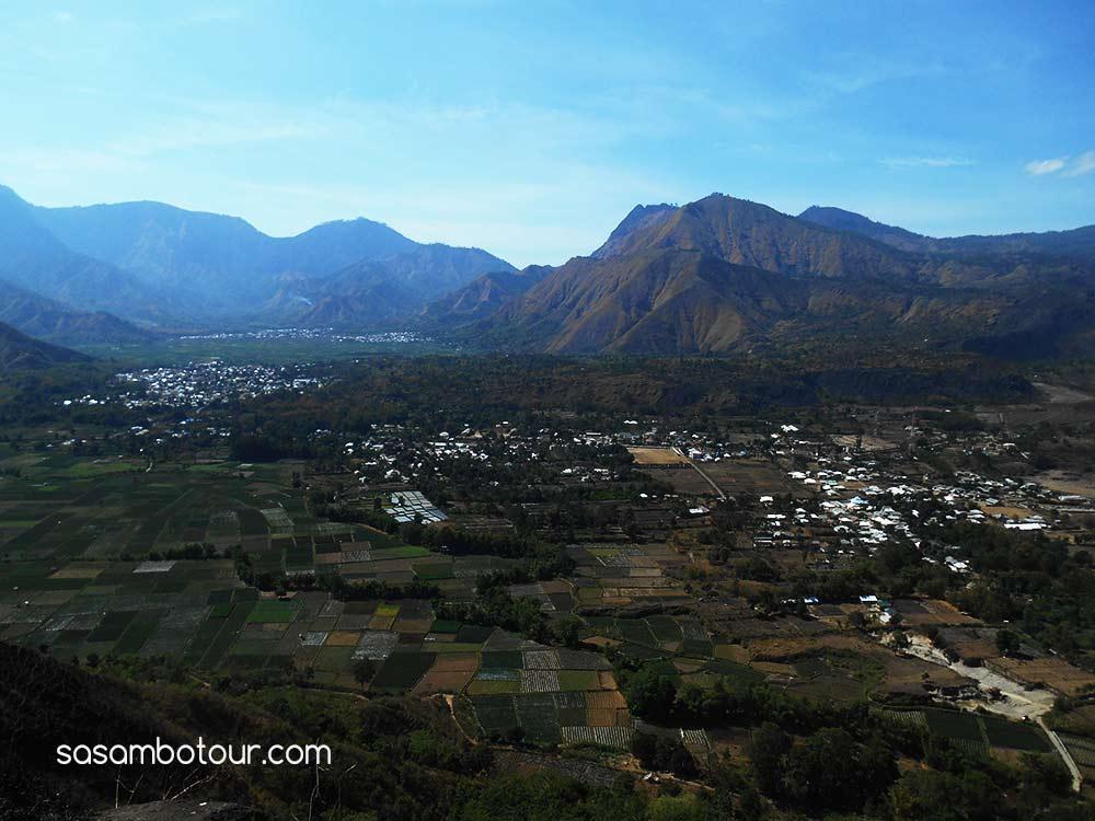 Bukit Pergasingan desa sembalun