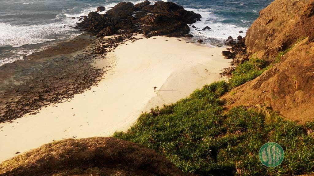pantai tanjung bongo lombok tengah