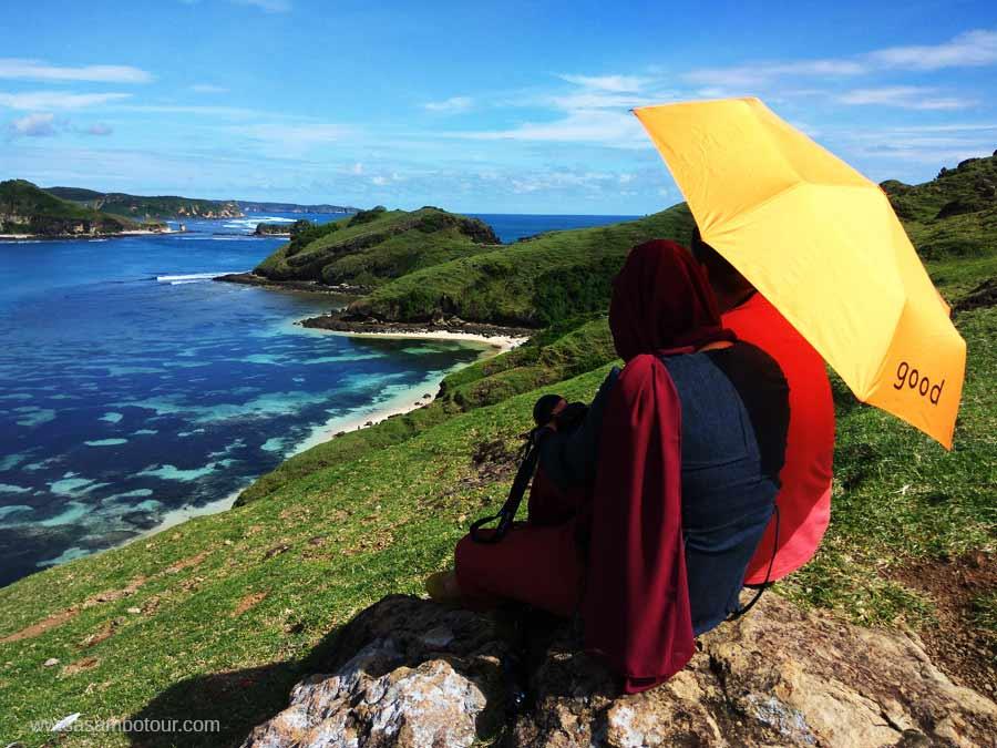 honeymoon romantis di pulau lombok bukit merese
