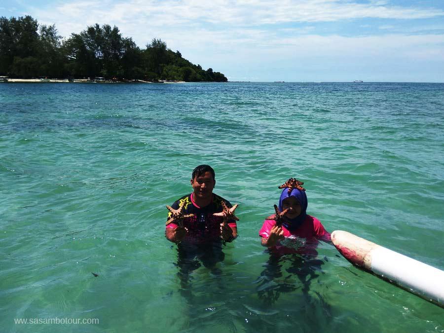 honeymoon romantis di pulau lombok snorkling gili nanggu