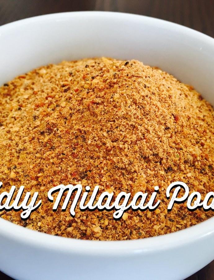 Idly Podi|Chutney powder