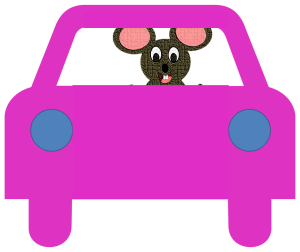 mouse-and-car
