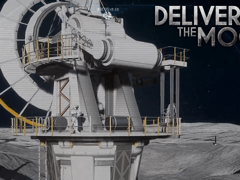 Outdoor-Arbeiten. Deliver Us The Moon #7