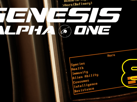 Gathering more ressources. Genesis Alpha One #8