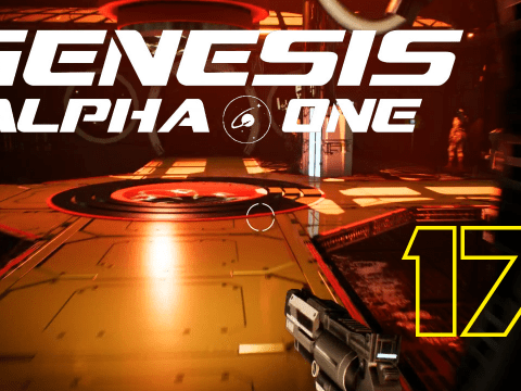 The ship gets expanded. Genesis Alpha One #17