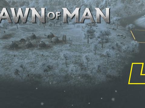 Winterliches Erlebnis. Dawn of Man #4