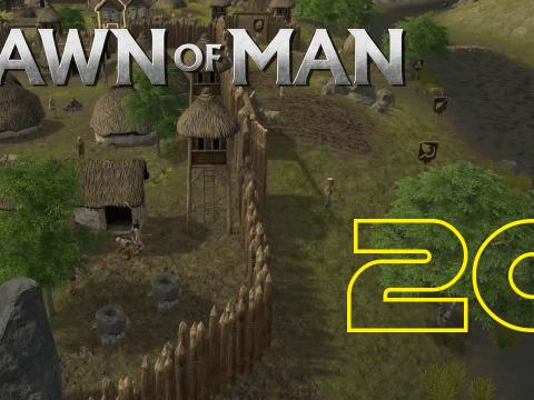 Eine Folge mit einem schönen Thumbnail. Dawn of Man #20