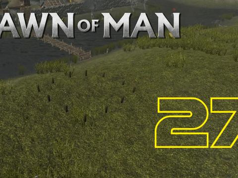 Gebäude am anderen Ufer. Dawn of Man #27