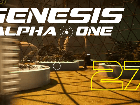 Stop eating my energy shield! Genesis Alpha One #27