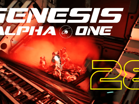 Slimy stuff again. Genesis Alpha One #28